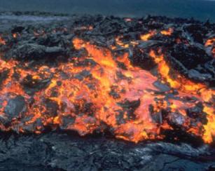 Ci ncia fant stica o vulcanismo for Temperatura lava
